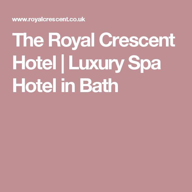 The Royal Crescent Hotel | Luxury Spa Hotel in Bath