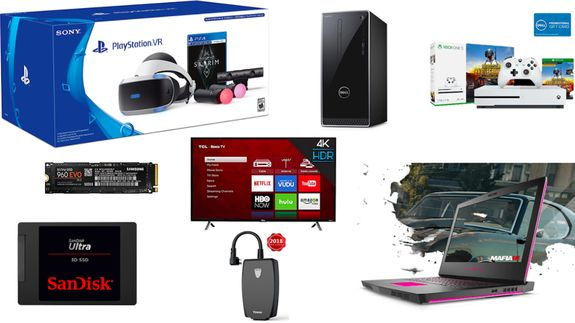 Todays best deals include PlayStation and Xbox bundles robot vacuums security cameras and Dell laptops