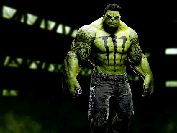 monster hulk | Who Would Sponsor Your Favorite Superhero? [Images] ~ The Geek Twins