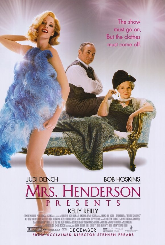 Sra. Henderson Apresenta (Mrs Henderson Presents), 2005.: Old London, Pòster Film, Judy Dench, Bobs Hoskin, Film 2005, Henderson, Favorite Movie, Posters, Presents