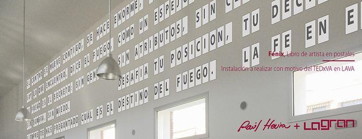 """""""Fénix"""" de Raúl Hevia Instalación realizada para #TEDxValladolid 2013 por #LaGran"""