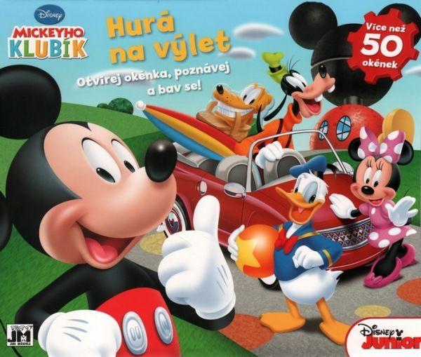 Mickey klubík - Otvírej okénka