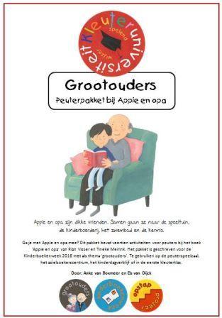 Kinderboekenweek peuters lesidee Appie en opa