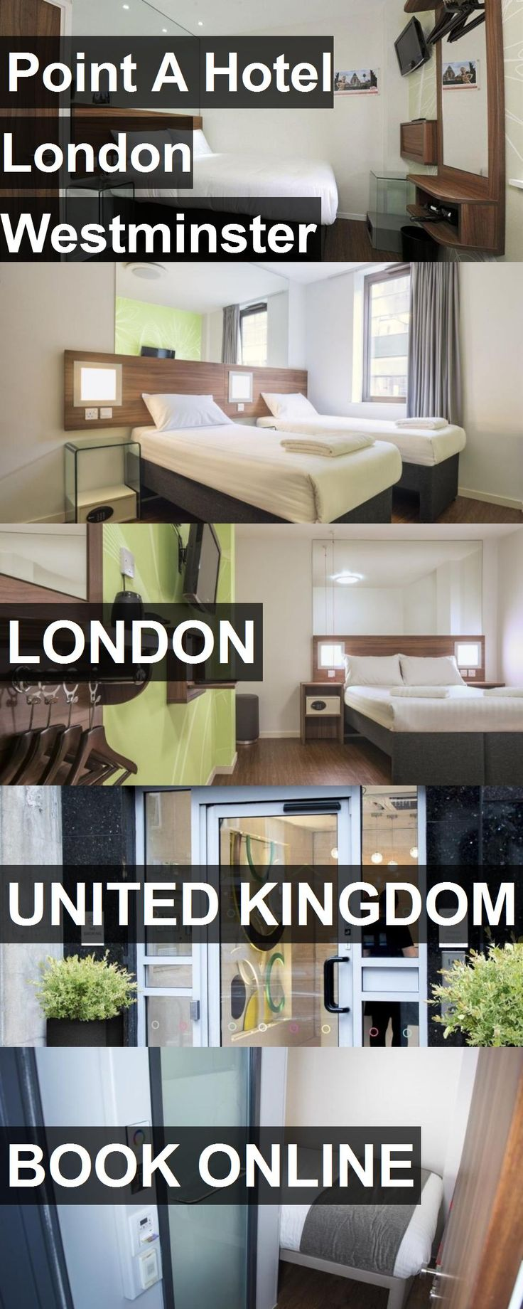 Point A Hotel London Westminster in London, United Kingdom. For more information, photos, reviews and best prices please follow the link. #UnitedKingdom #London #travel #vacation #hotel