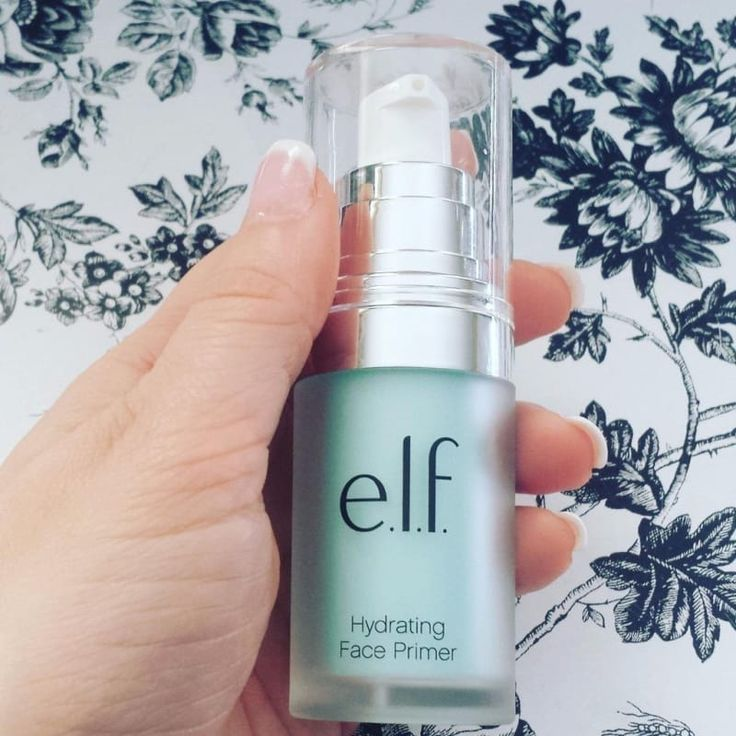 """ELF Hydrating Face Primer. Seriously wanna try this asap.. Promising Review:""""WOW! I was not expecting much from this product, but it BLEW ME AWAY. This primer is very hydrating, but it's not greasy or oily in any way, shape, or form! My skin feels like skin; not like skin underneath a layer of cream. This primer is amazing for this price."""" MakeupWannaTryASAP!"""