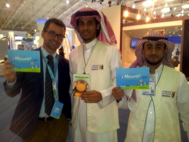 Muuvit at Education Fair IEFE in Saudi Arabia