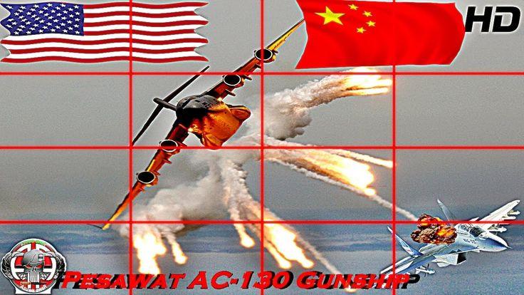 Pesawat AC-130 Gunship Amerika Sang Hantu Pemberontak Dari Udara