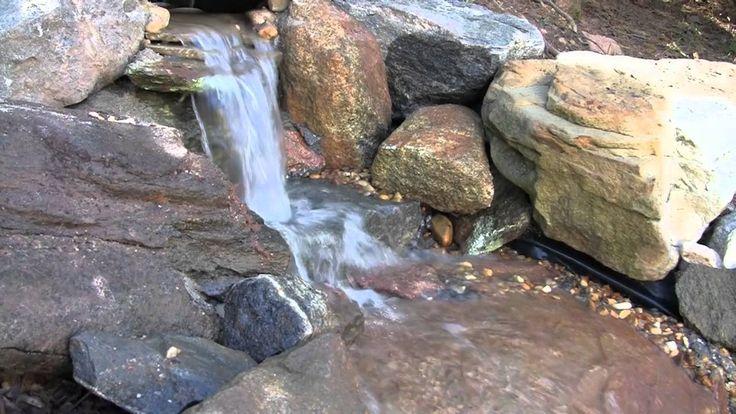 DIY Pondless Waterfall - YouTube