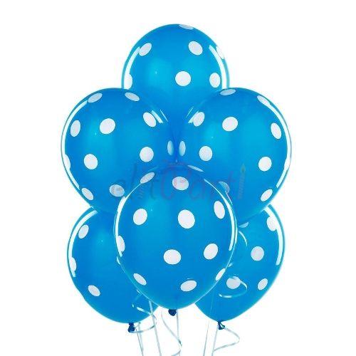 Mavi Puanlı Latex Balon - 1.49 ₺