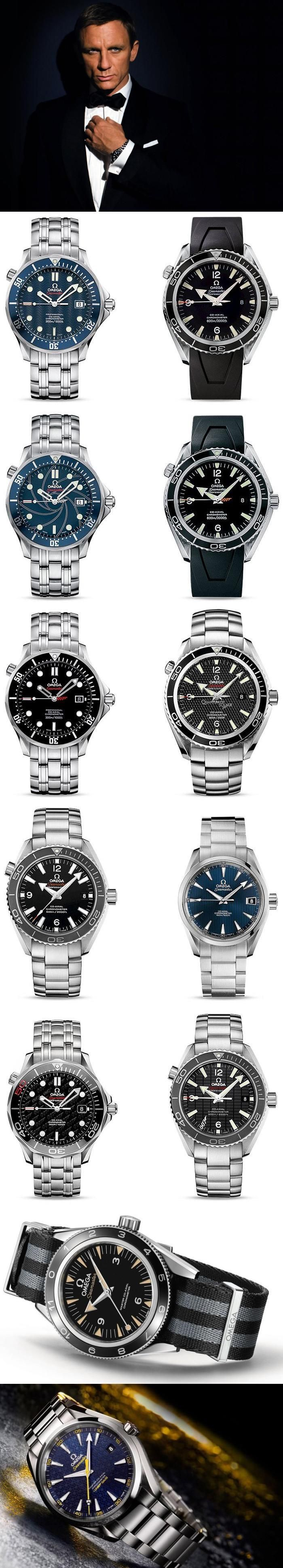 Omega 007 James Bond Watches Guide - Daniel Craig Era