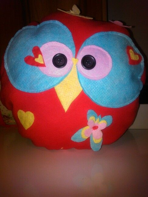 Owl pillow:)
