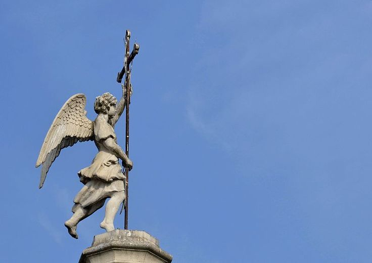 Moscow. Kuskovo. The Church of the Merciful Saviour. The figure of an angel on the church dome. Late 1730s, the replica of 1983. Photo: Mavra Petrova, Dmitry Ivanov. 2014. #18century #sculpture