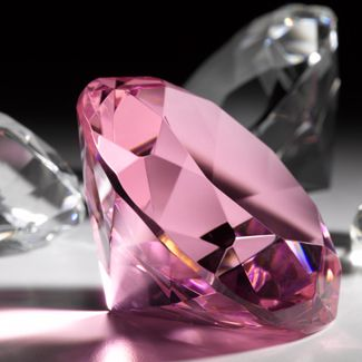 Argyle Pink Diamond - the reason for the pink colouring in Argyle diamonds remains a mystery to scientists. (Credit: Getty Images)