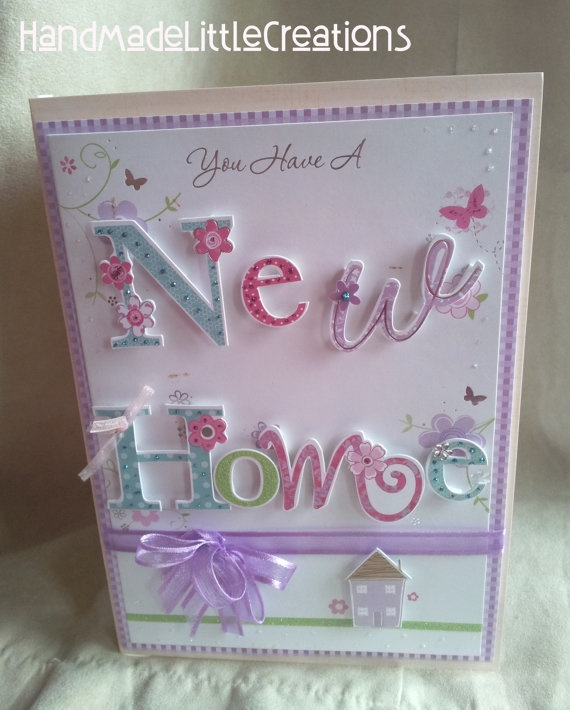 Card Making Ideas New Home Part - 48: NEW HOME CARD Special 3D Handmade Card By AmandaHLCreations, £2.99