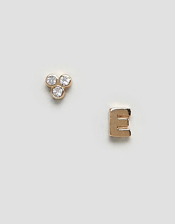 Orelia - Ohrringe mit E-Buchstabe - Gold Jetzt bestellen unter: https://mode.ladendirekt.de/damen/schmuck/ohrringe/ohrhaenger/?uid=87522a92-a998-5f49-aec6-4611c5dcdbbb&utm_source=pinterest&utm_medium=pin&utm_campaign=boards #schmuck #sale #ohrhaenger #ohrringe #uhren #female