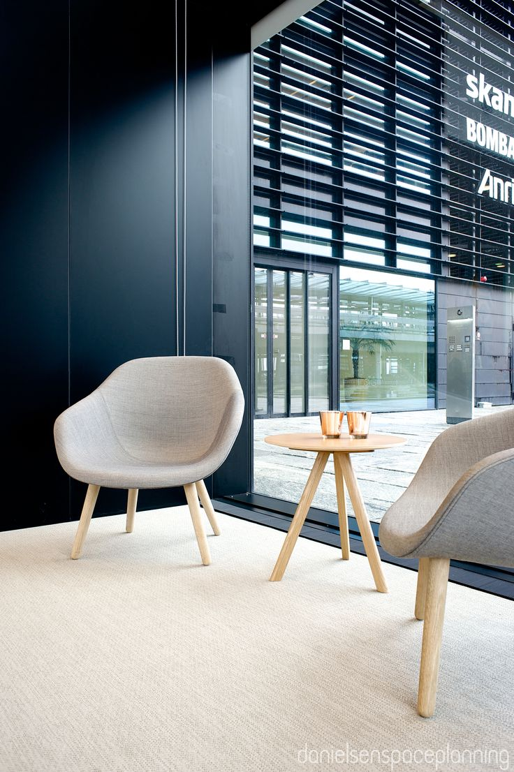 Lounge - Spies' office in Copenhagen. Spaceplanning and interior design by Danielsen Spaceplanning.