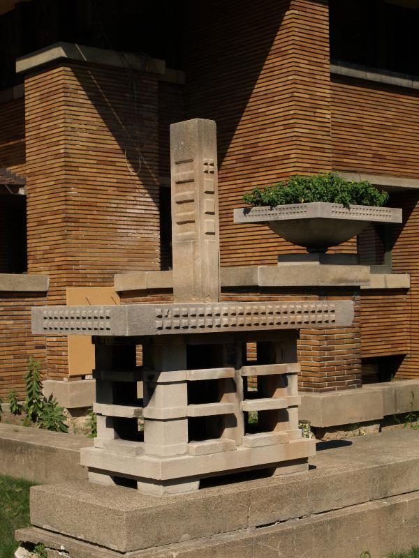 Darwin D. Martin House. Frank Lloyd Wright. 1903-5. Buffalo, New York. Prairie Style