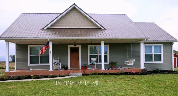 Simply farmhouse simply farmhouse house plan the for Metal barn houses floor plans