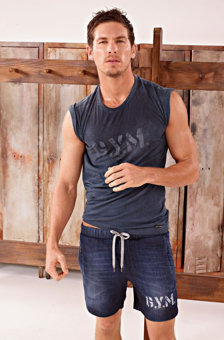 Adam Senn & Crew are Ready to Sweat for Dolce & Gabbanas Fall 2012 Gym Lookbook