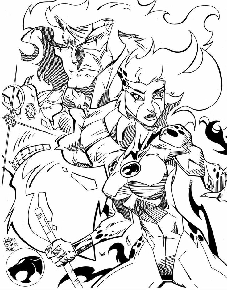 thundercats coloring - Thunder Cats Coloring Book Pages