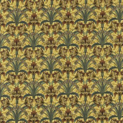 Robert Kaufman Fabrics: EY-4816-6 SPICE from Jardin Nouveau
