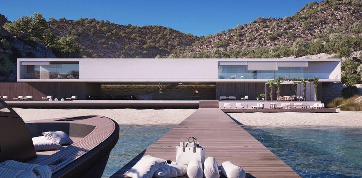 Architectenbureau Superhouse wil dertig Superhouses bouwen op verlaten plekken in de wereld. Deze huizen zijn absurd luxe. Kijk mee!