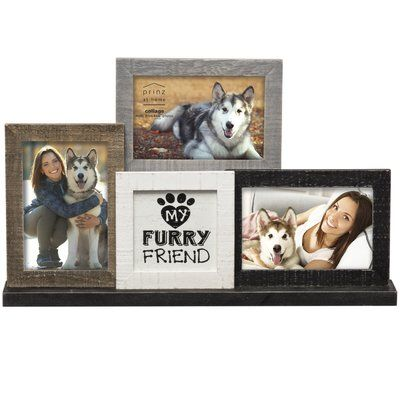 prinz messages moments my furry friend mantel collage picture frame