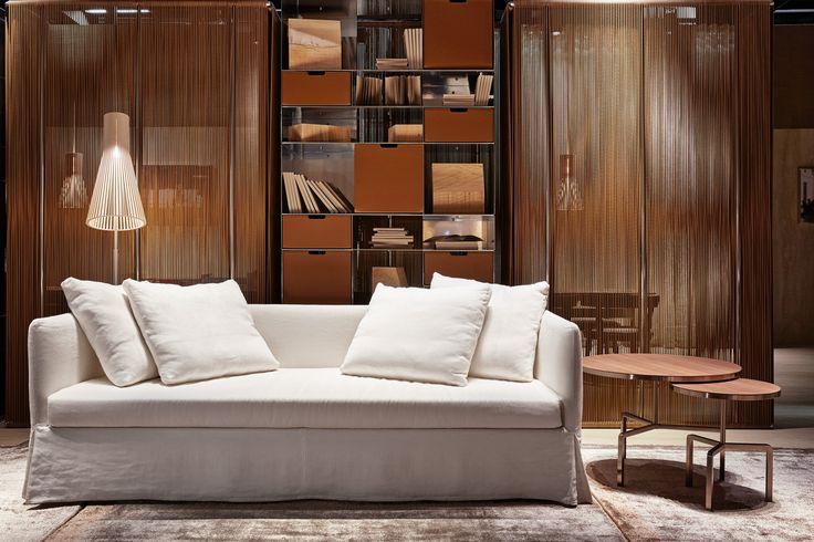 FLEXFORM TWINS #sofabed #design Guilio Manzoni