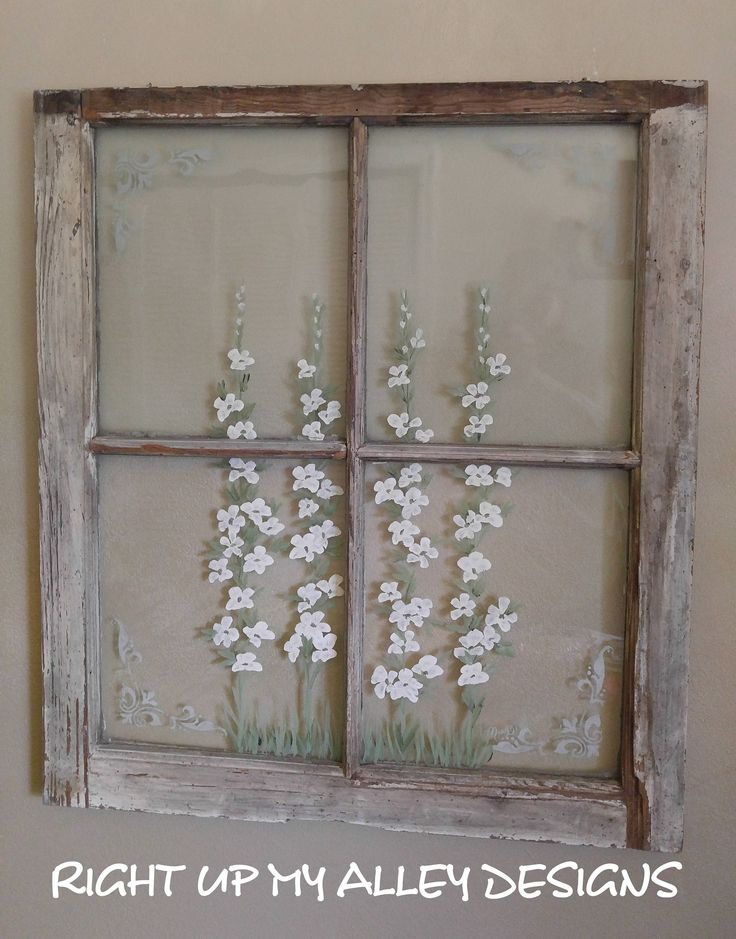 Best 25+ Old window art ideas on Pinterest