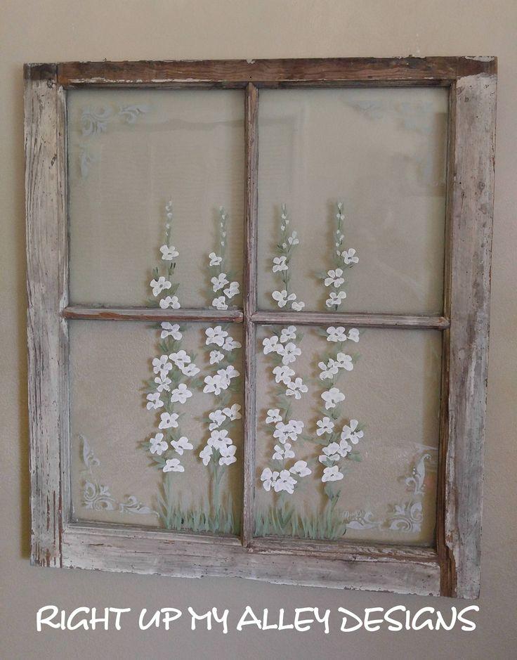 Best 25+ Old window art ideas on Pinterest