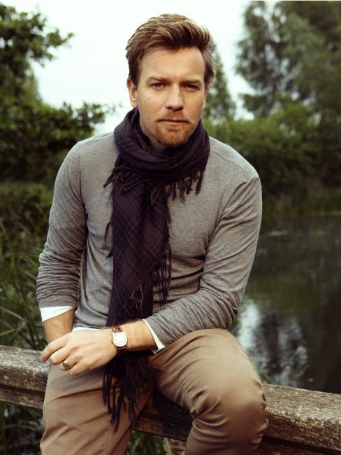 """I pinned this not for him, but for his documentaries, """"Long Way Round"""" and """"Long Way Down"""". Ewan McGregor"""