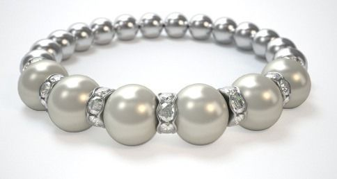 Love love love this pearl bracelet ..great quality and easy to order. It arrived on time and I plan on ordering another one for my best friend...thanks for being truthful about your product.