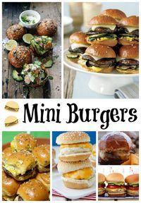I have been craving burgers lately and wanted some new recipes to try. Here are 15 Mini Burger Recipes that are great for Summer.
