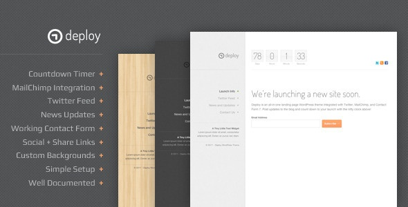 Deploy HTML Template