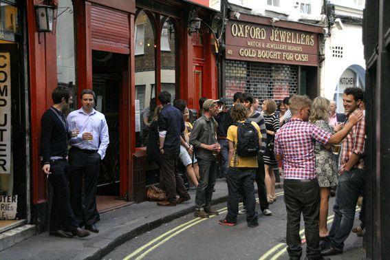 Bradley S Spanish Bar It S Right Next To Tottenham Court