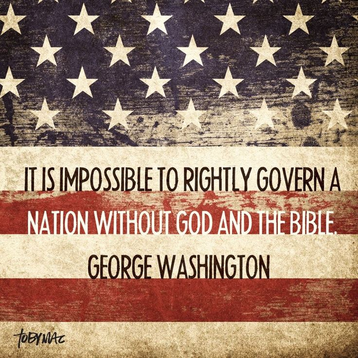 If only our government would remember the time when decisions were made based on God and the principles of the Bible...
