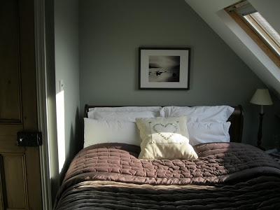 Modern Country Style blog: New home for a cushion in the Master Bedroom