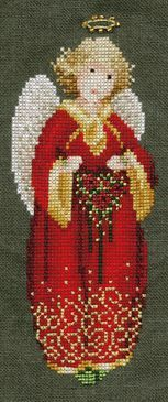 Free Christmas Cross Stitch Pattern: 1997 Christmas Angel