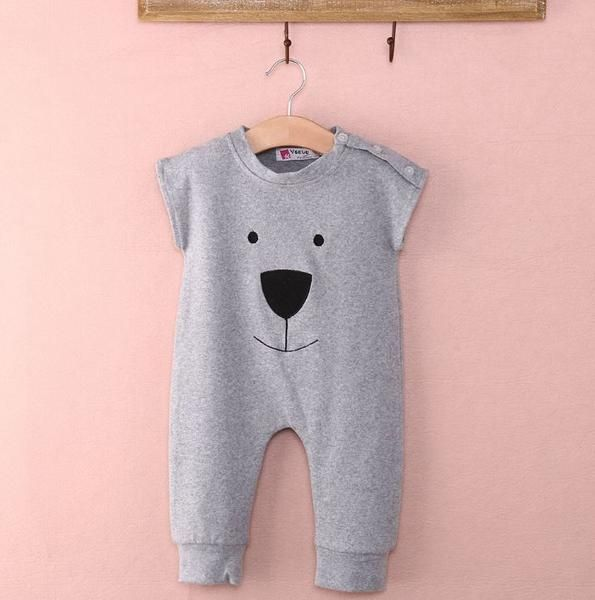 UnisexSleeveless Bear Play suit One-piece Outfit Perfect Climbing Outfit