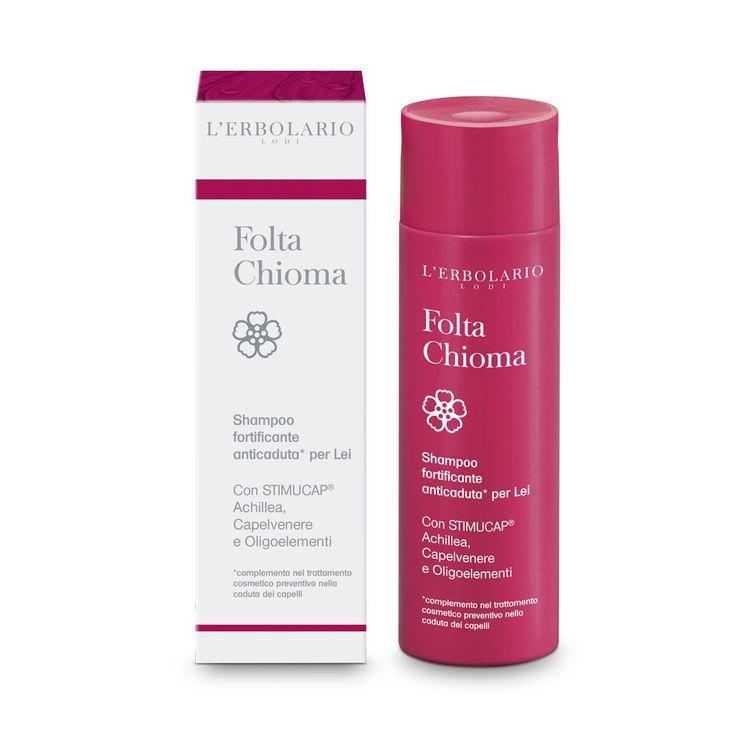 Shampoo Folta Chioma per Lei Con STIMUCAP® Achillea,Capelvenere e Oligoelementi *complemento nel trattamento cosmetico preventivo nella caduta dei capelli