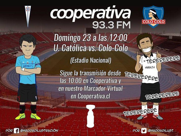 Ya se palpita la Supercopa del fútbol chileno por Cooperativa