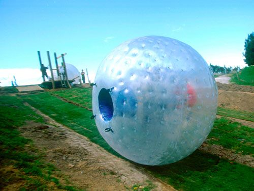 The best date in Tennessee: roll down the Zorb Smoky Mountains