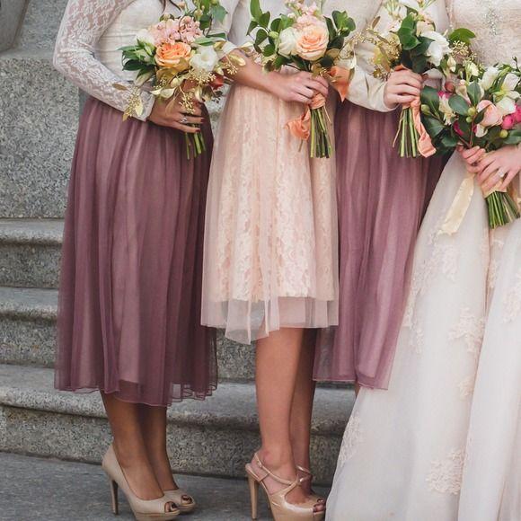 2% off Mika Rose Dresses & Skirts - Soft Plum Tulle Skirt from Abigail's closet on Poshmark bridesmaid