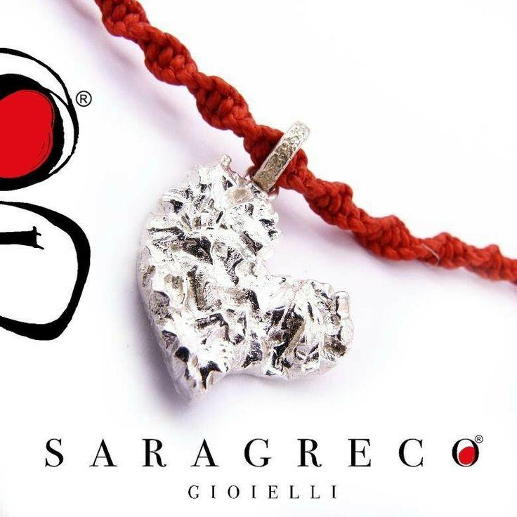 A #SanValentino #regala il #cuore #sgg !!! ♥♡♥ #truelove #silver #saragrecogioielli #handmade #red www.saragrecogioielli.com