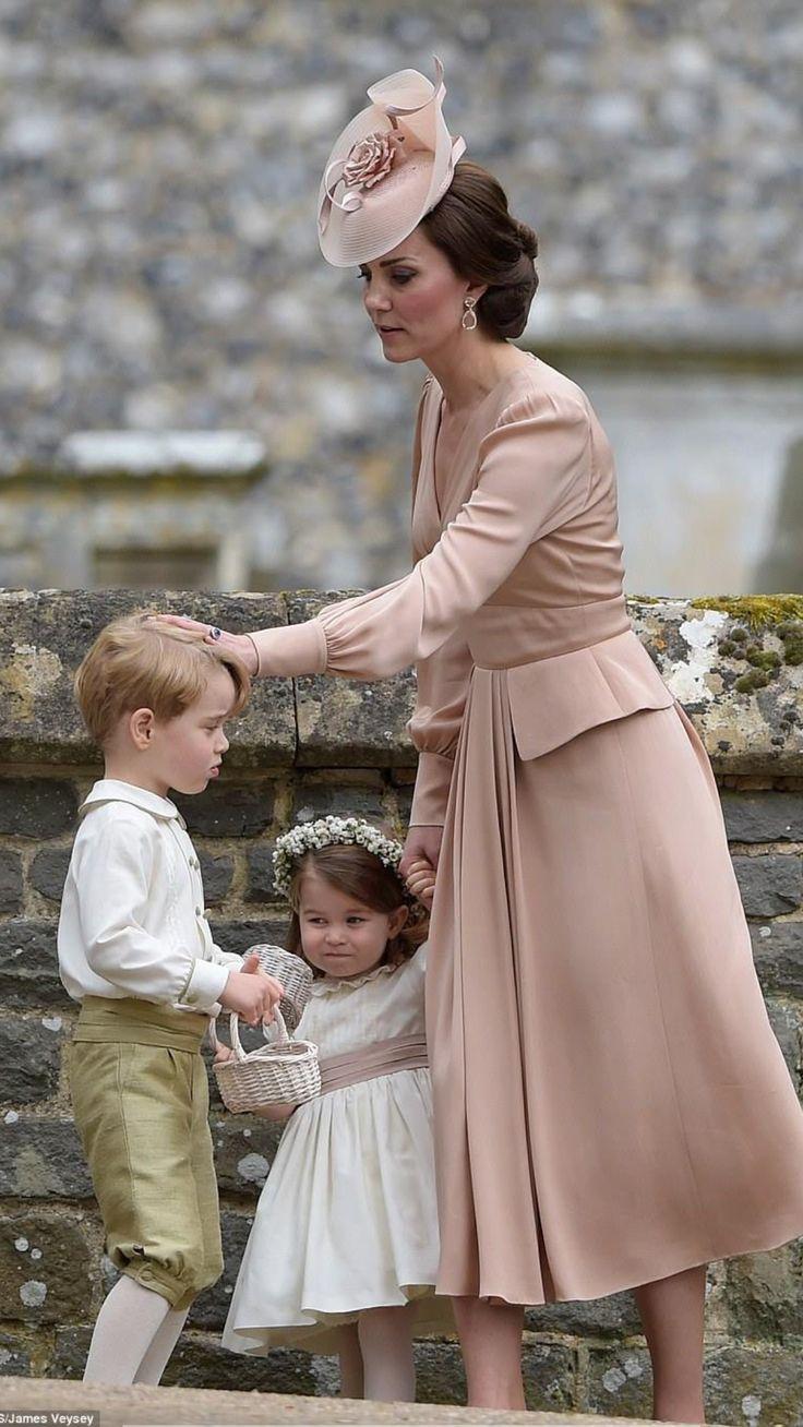 Kate & children
