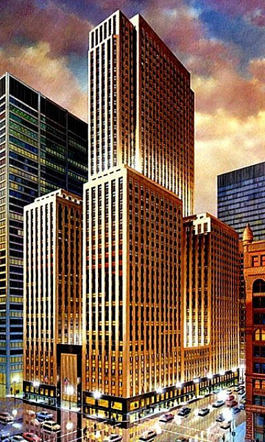 Seagram Building, New York (Mies van der Rohe with Philip Johnson, 1954-
