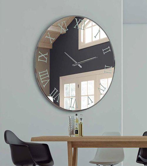 rloj de pared murano redondo, relojes decorativos, relojes originales de cristal, relojes dis-arte