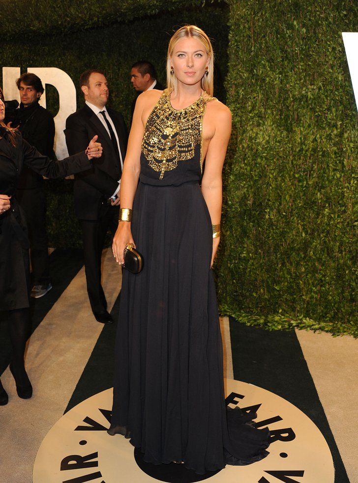 Pin for Later: What Style Looks Like at Every Height Maria Sharapova: Six Feet, Two Inches