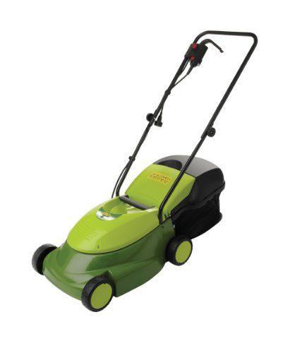 Factory Reconditioned Sun Joe MJ401E-RM 14-Inch 12 Amp Electric Mow Joe Lawn Mower with Grass Catcher | Best Buy Garden Tools Store