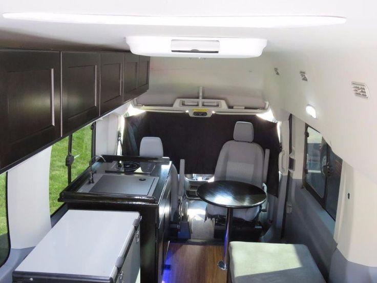 Ford Transit Campervan Conversion SERVICE By DLM Distribution Custom Camper Vans